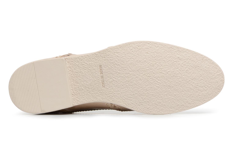 Chaussures à lacets Georgia Rose Nissa Beige vue haut