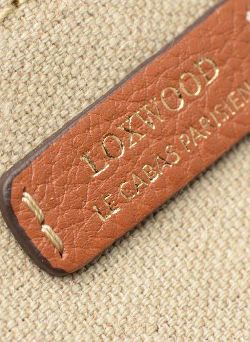 Sacs à main Loxwood Shopper Toile Beige vue gauche