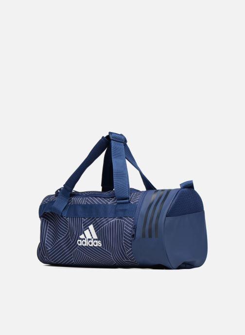 Sacs de sport adidas performance CVRT 3S Duf S Bleu vue portées chaussures