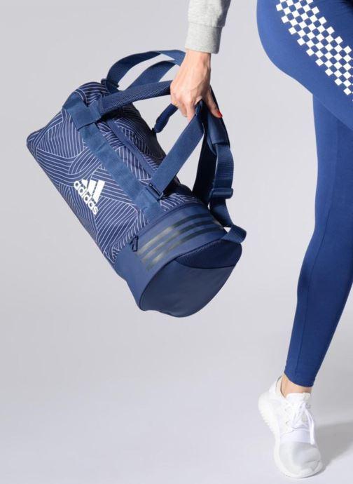 Sacs de sport adidas performance CVRT 3S Duf S Bleu vue bas / vue portée sac