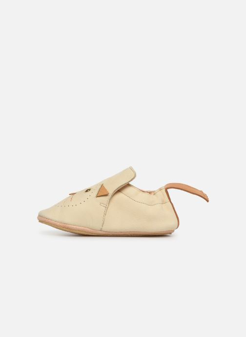 Slippers Easy Peasy Blublu Miaou Beige front view