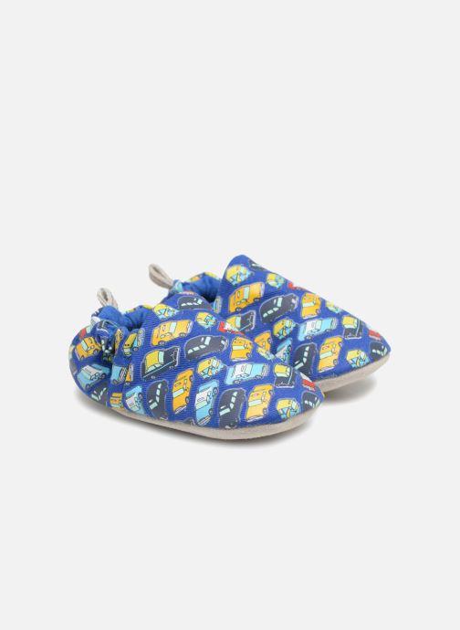 Chaussons Poco Nido Taxis Bleu vue portées chaussures