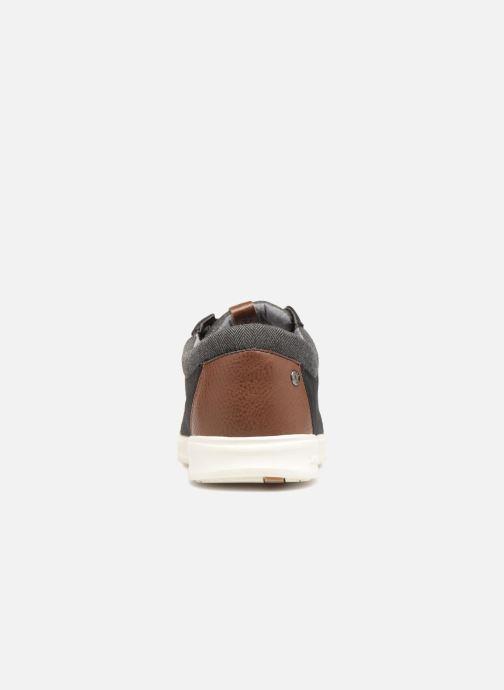 Sneaker Jack & Jones JFW Gaston Canvas Mix schwarz ansicht von rechts