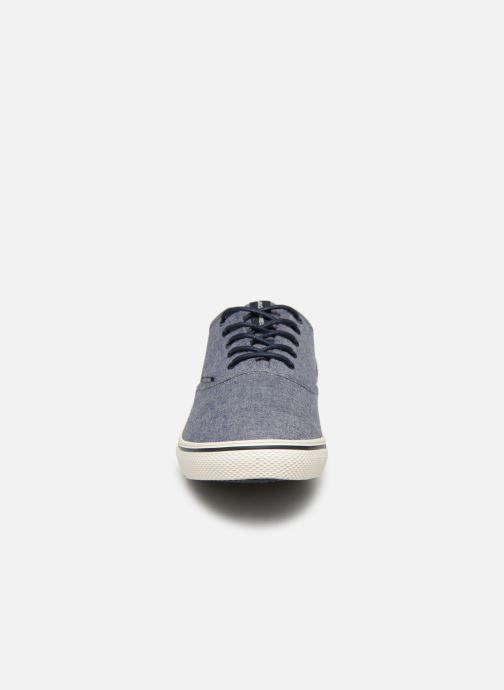 Sneaker Jack & Jones JFW Heath Chambray blau schuhe getragen