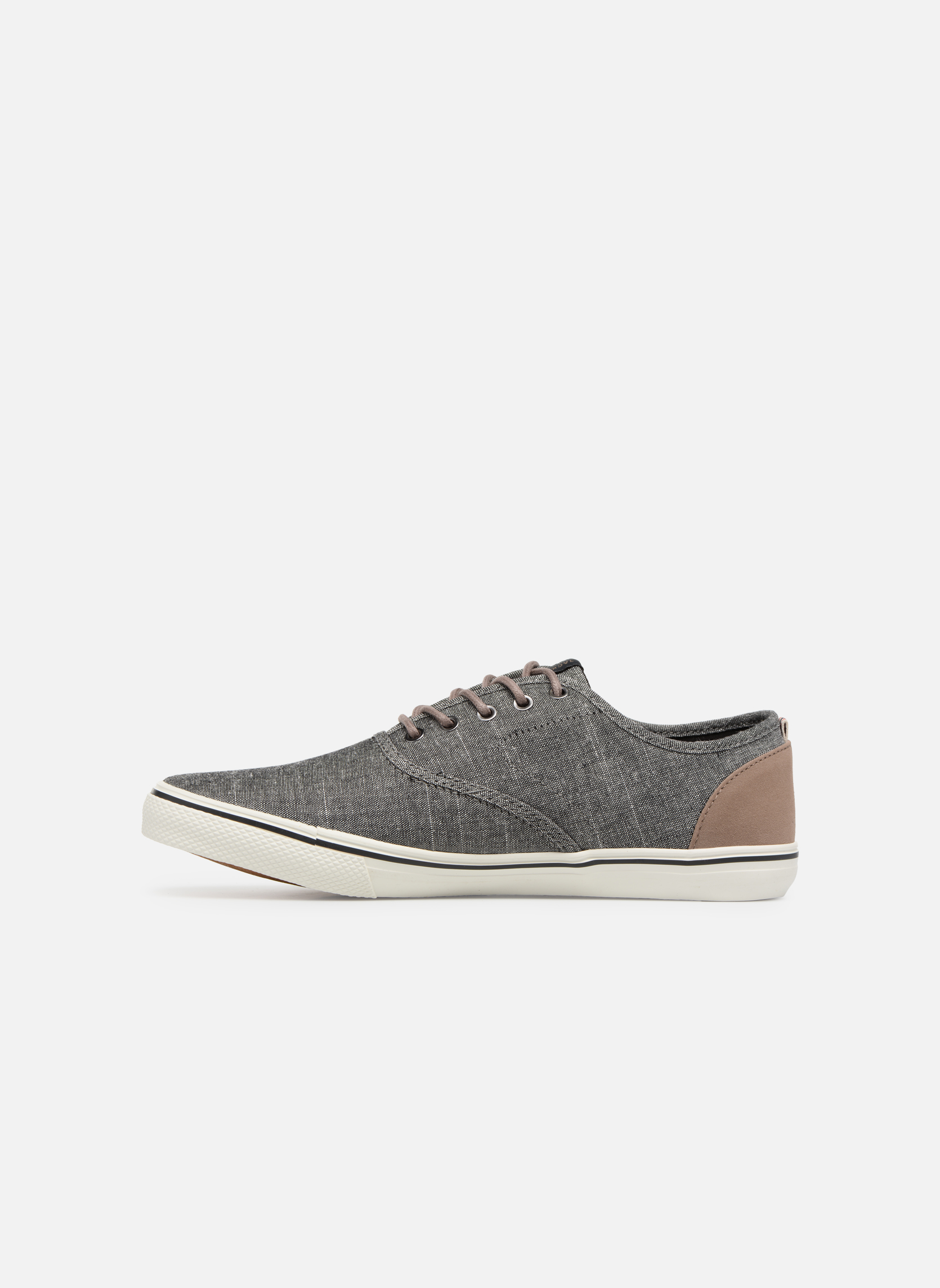Trainers Jack & Jones JFW Heath Chambray Grey front view
