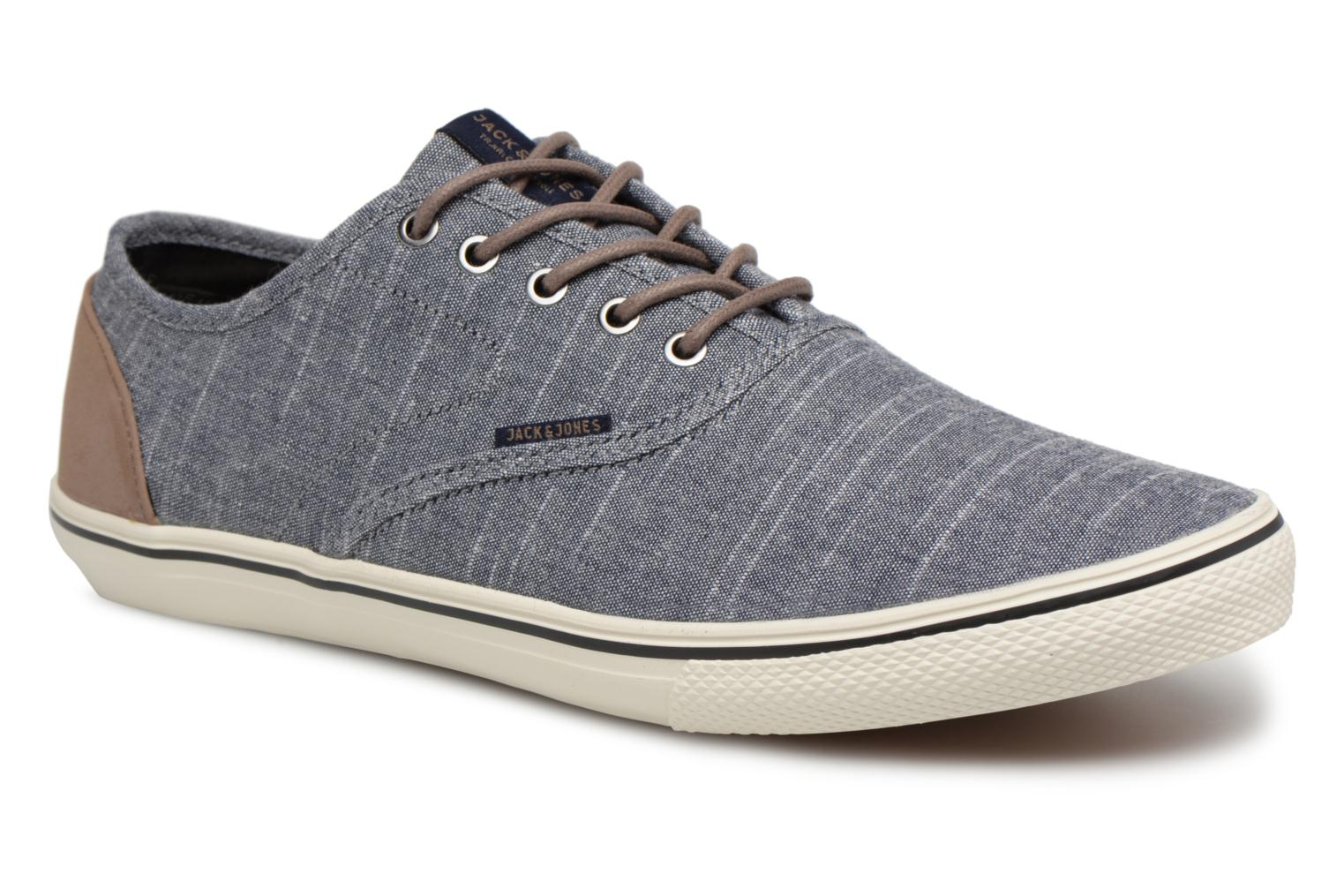 Trainers Jack & Jones JFW Heath Chambray Blue detailed view/ Pair view