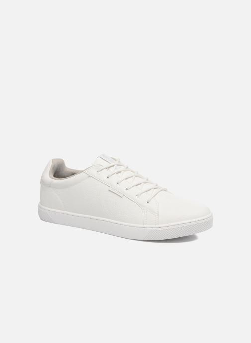 Baskets Jack & Jones JFW Trent Pu Blanc vue détail/paire