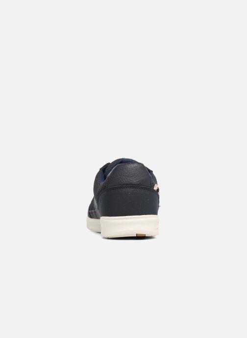 Sneaker Jack & Jones JFW Rayne Mesh Mix blau ansicht von rechts