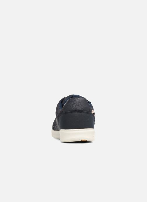 Baskets Jack & Jones JFW Rayne Mesh Mix Bleu vue droite