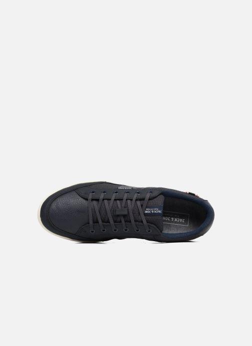 Sneaker Jack & Jones JFW Rayne Mesh Mix blau ansicht von links