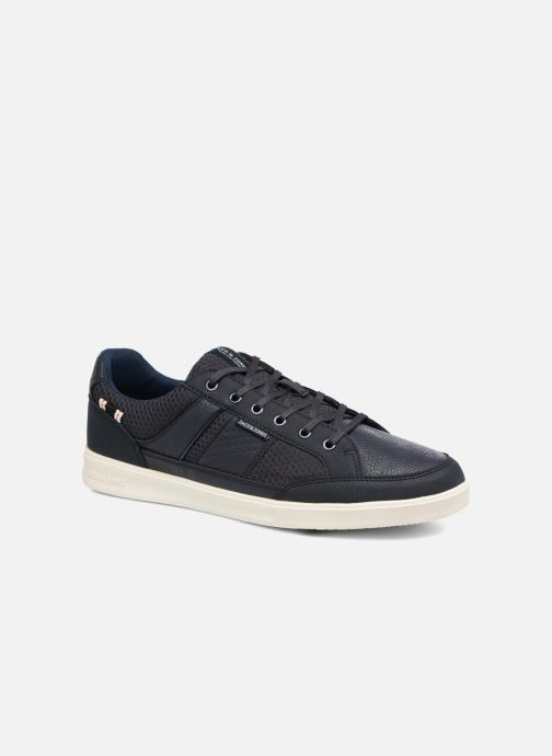 Baskets Jack & Jones JFW Rayne Mesh Mix Bleu vue détail/paire