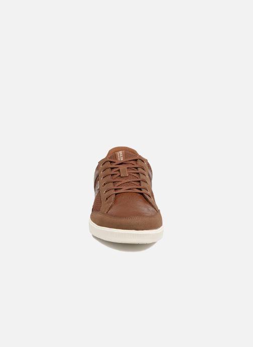 Sneaker Jack & Jones JFW Rayne Mesh Mix braun schuhe getragen