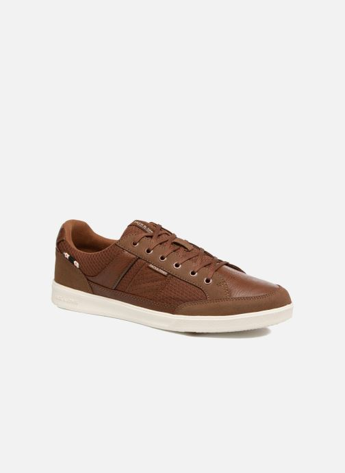 Baskets Jack & Jones JFW Rayne Mesh Mix Marron vue détail/paire