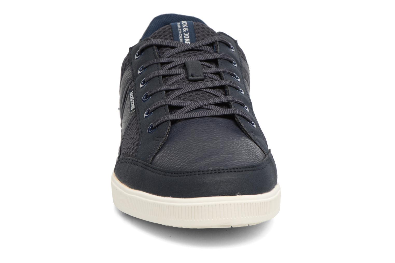 Baskets Jack & Jones JFW Rayne Mesh Mix Bleu vue portées chaussures