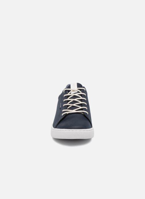 Baskets Jack & Jones JFW Trent Synthetic Suede Bleu vue portées chaussures