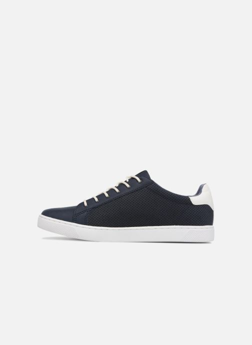 Sneakers Jack & Jones JFW Trent Synthetic Suede Azzurro immagine frontale