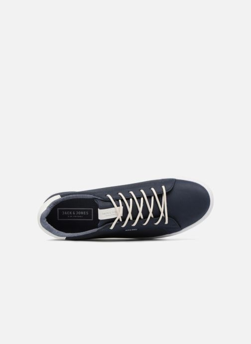Sneakers Jack & Jones JFW Trent Synthetic Suede Azzurro immagine sinistra