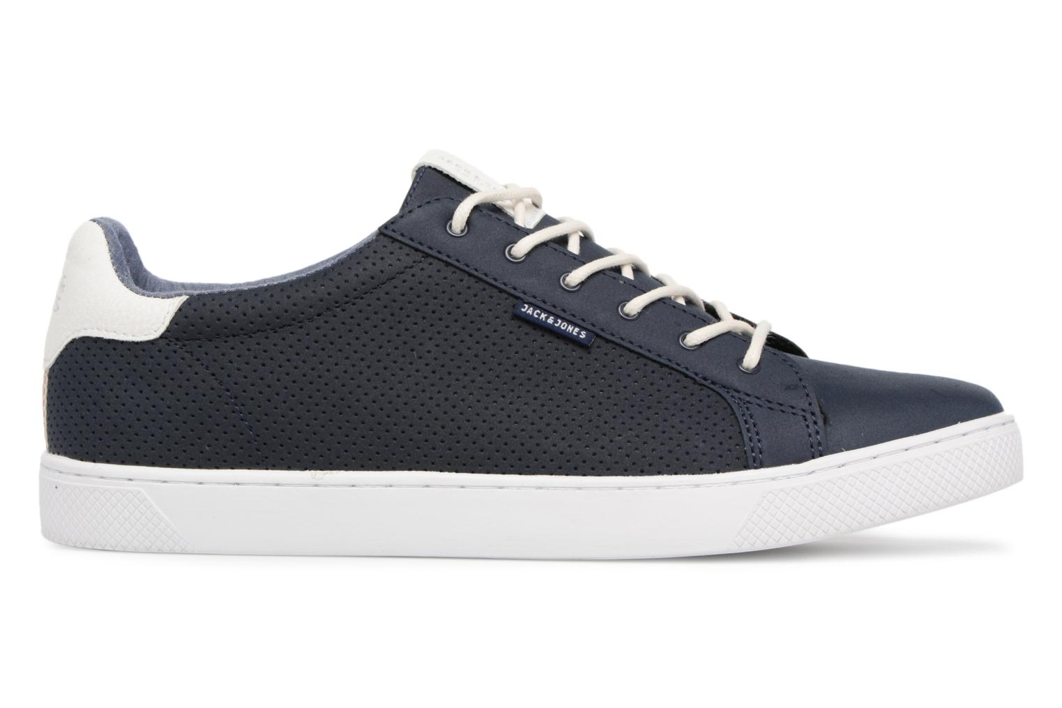 Trainers Jack & Jones JFW Trent Synthetic Suede Blue back view