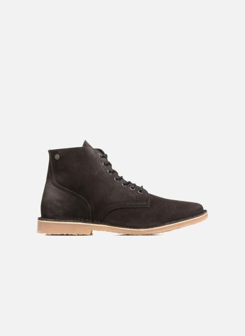 Ankle boots Jack & Jones JFW Bruce Suede Black back view