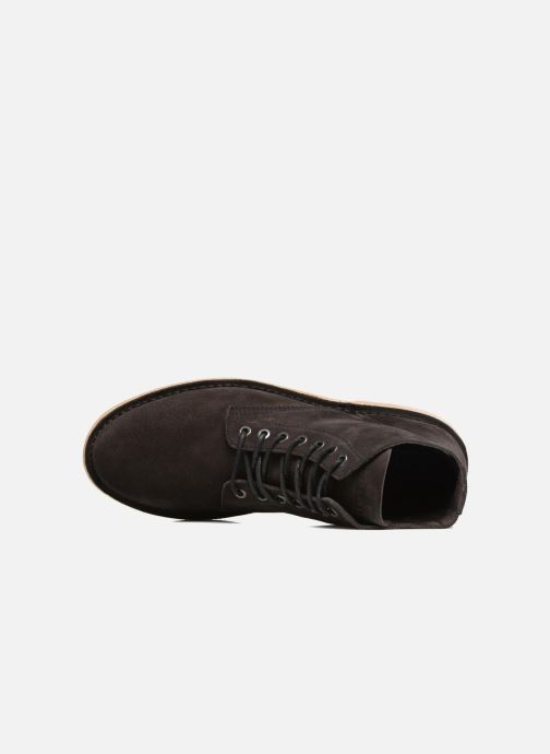 Ankle boots Jack & Jones JFW Bruce Suede Black view from the left