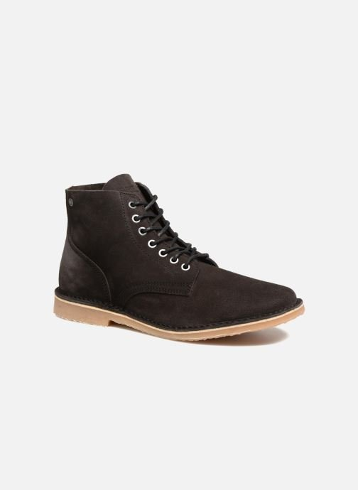 Ankle boots Jack & Jones JFW Bruce Suede Black detailed view/ Pair view