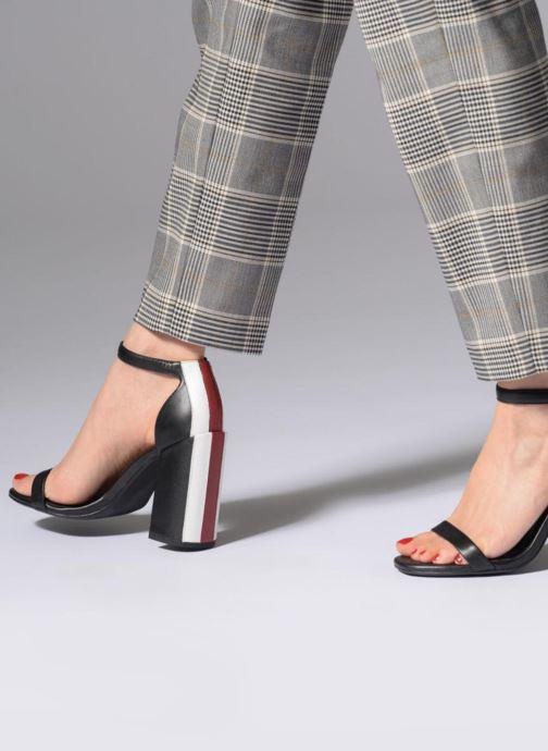Sandales et nu-pieds SENSO Lana Noir vue bas / vue portée sac