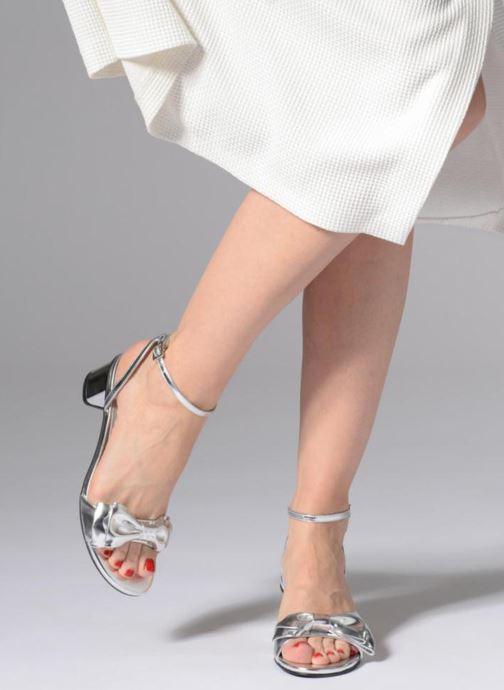 Sandales et nu-pieds SENSO Jemma II Argent vue bas / vue portée sac