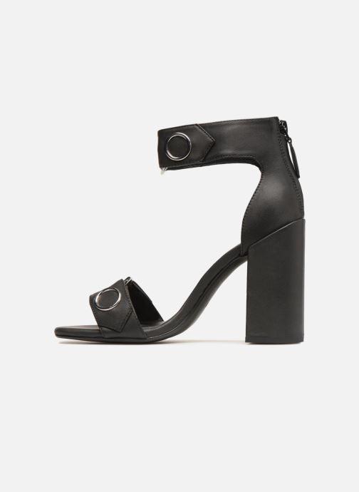 Sandales et nu-pieds SENSO Lala Noir vue face