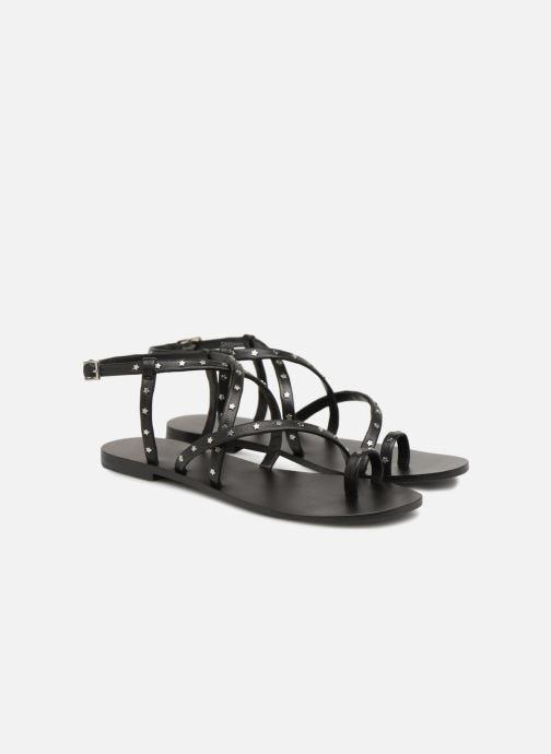 Sandales et nu-pieds SENSO Cassandra Noir vue 3/4