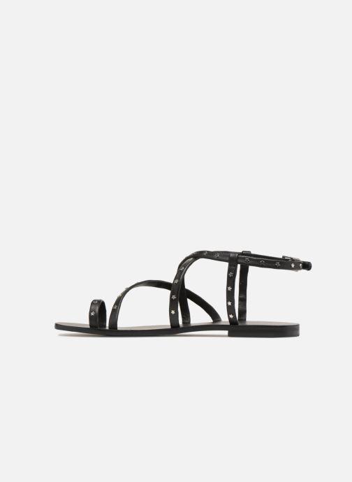 Sandales et nu-pieds SENSO Cassandra Noir vue face