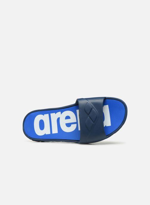Chaussures de sport Arena Watergrip M Bleu vue gauche
