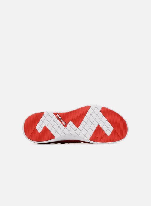 Sneaker Supra Flow Run Evo rot ansicht von oben
