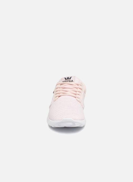 Sneaker Supra Womens Hammer Run rosa schuhe getragen