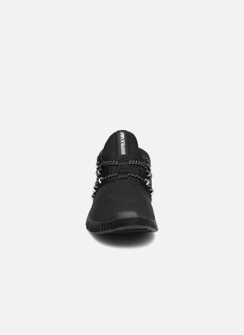 Baskets Supra Malli Noir vue portées chaussures