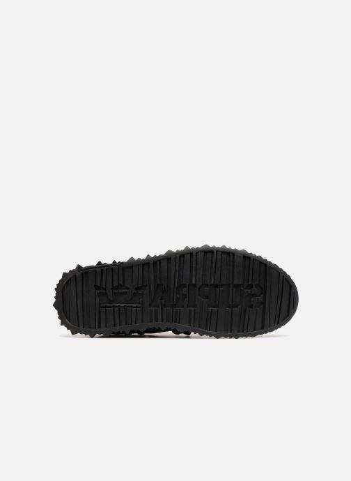 Baskets Supra Malli Noir vue haut