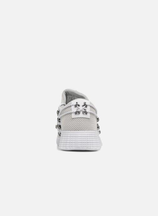 Sneaker Supra Malli grau ansicht von rechts