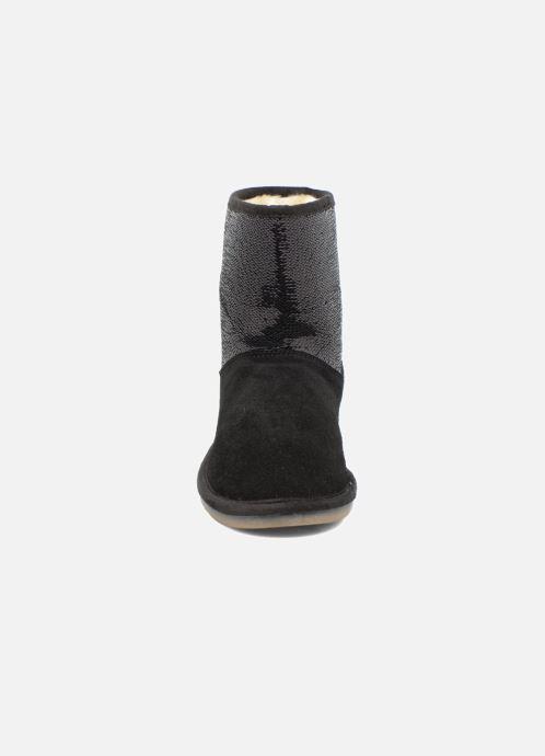 Bottines et boots Les Tropéziennes par M Belarbi Anetta Noir vue portées chaussures