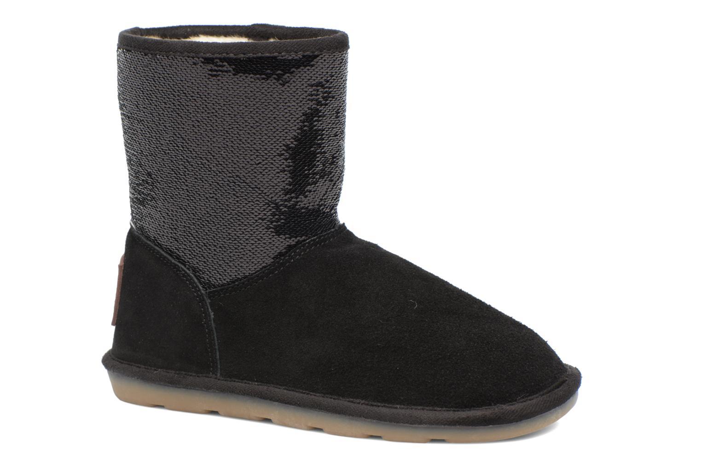 Bottines et boots Les Tropéziennes par M Belarbi Anetta Noir vue détail/paire