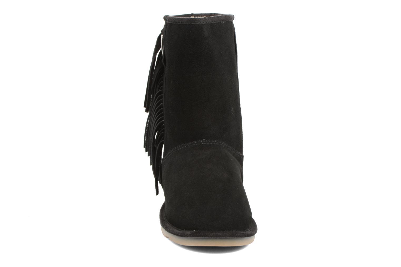 Bottes Les Tropéziennes par M Belarbi Azora Noir vue portées chaussures