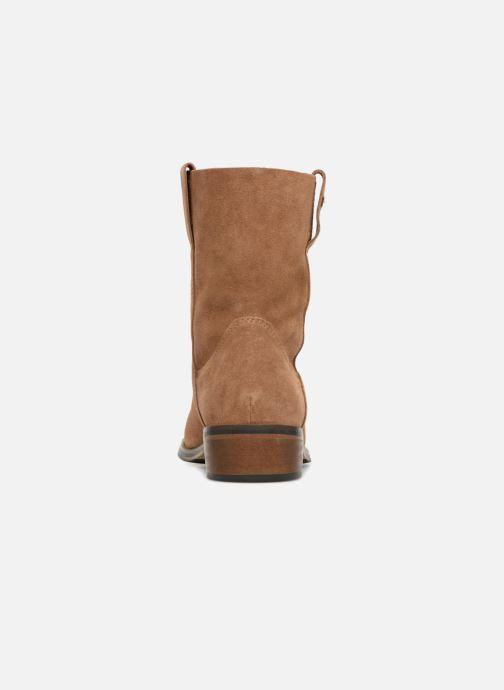 Bottines et boots Les Tropéziennes par M Belarbi Curcuma Marron vue droite
