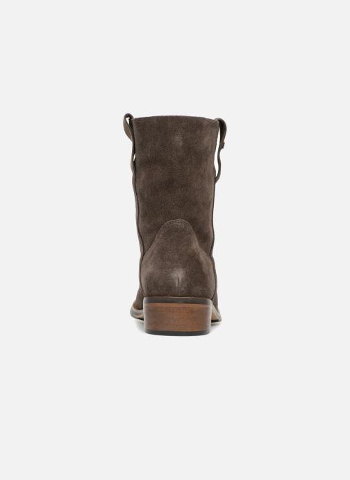 Boots en enkellaarsjes Les Tropéziennes par M Belarbi Curcuma Grijs rechts