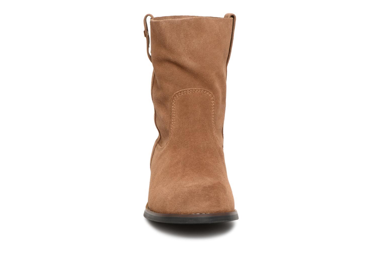 Bottines et boots Les Tropéziennes par M Belarbi Curcuma Marron vue portées chaussures