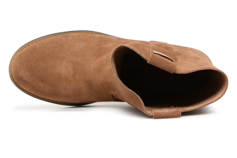 Bottines et boots Les Tropéziennes par M Belarbi Curcuma Marron vue gauche