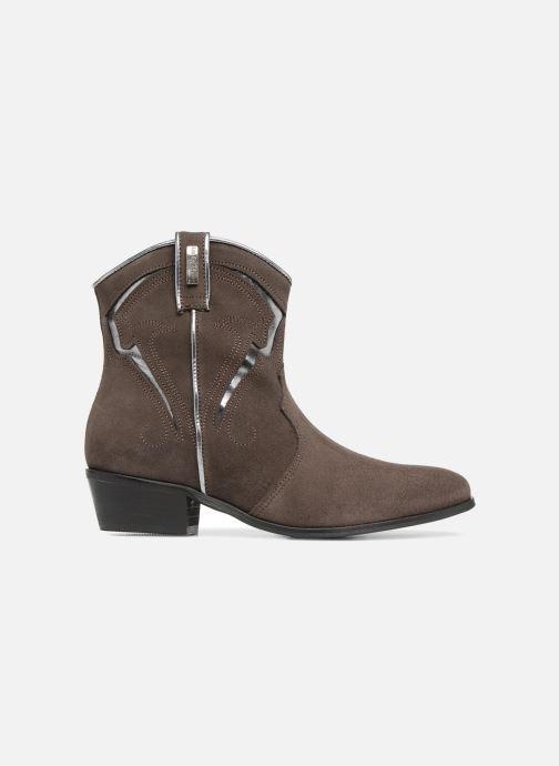 Bottines et boots Les Tropéziennes par M Belarbi Texas Gris vue derrière