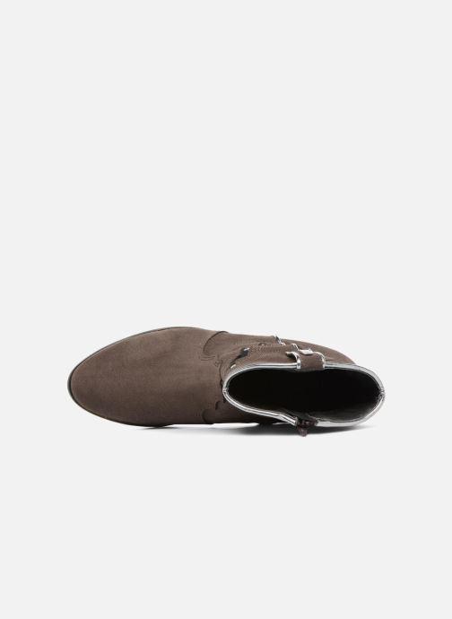 Bottines et boots Les Tropéziennes par M Belarbi Texas Gris vue gauche