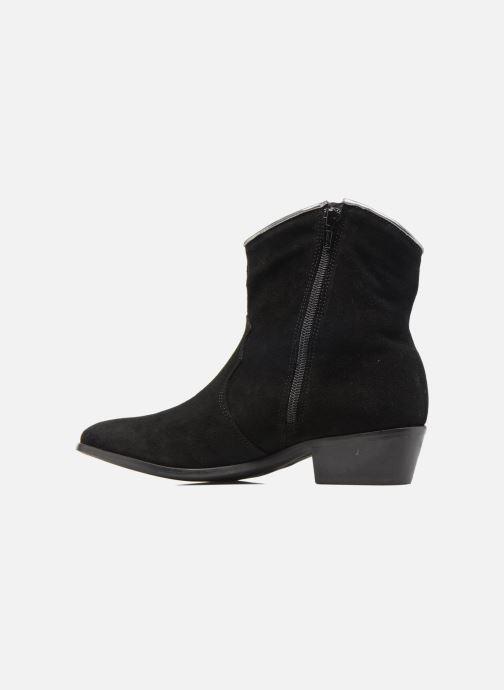 Bottines et boots Les Tropéziennes par M Belarbi Texas Noir vue face