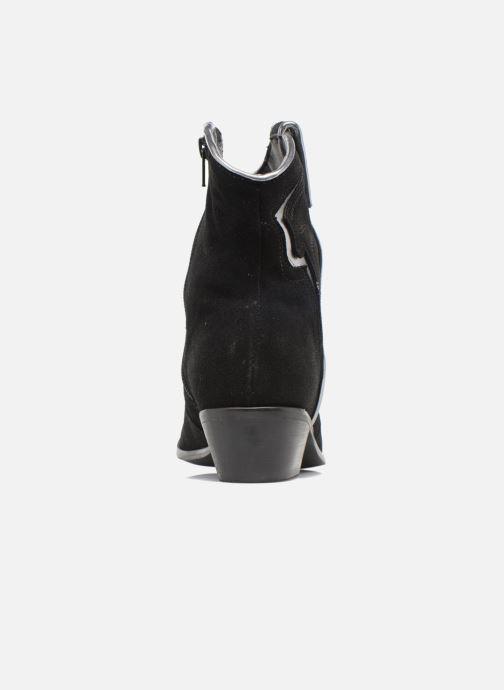 Bottines et boots Les Tropéziennes par M Belarbi Texas Noir vue droite