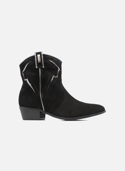 Bottines et boots Les Tropéziennes par M Belarbi Texas Noir vue derrière