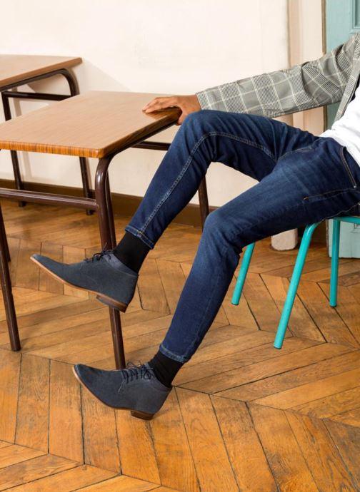 Bottines et boots Mr SARENZA Stall Bleu vue bas / vue portée sac