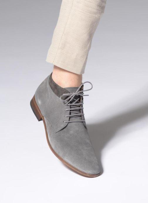 Bottines et boots Mr SARENZA Stall Gris vue bas / vue portée sac